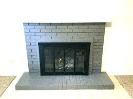 painting brick fireplace dark brown best color to paint paint red brick fireplace white