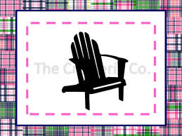 Adirondack Chair PNG SVG Files Commercial Personal Use
