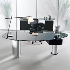 Contemporary Glass Office Desks