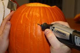 dremel pumpkin carving bit. finish carving the details dremel pumpkin bit h