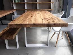 Massivholztisch Esstisch Aus Eichenholz Altholz Im Maß 240x100cm