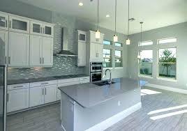 grey subway tile backsplash grey subway tile white kitchen cabinets