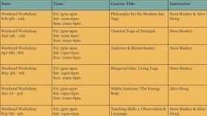 200 hour yoga teacher program schedule inpired yoga insute calgary