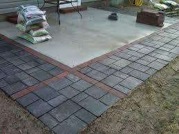 patio stones. Concrete Patio Pavers New With Ideas Home Depot Paver Base Driveway Lowes Stones