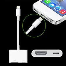 iphone to hdmi. image is loading lightning-to-digital-av-tv-hdmi-cable-adapter- iphone to hdmi a