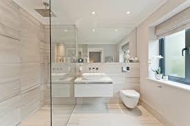 stone or tile and fabric accents as well as the occasional touch of metallics or wood will retain the seamless look while still giving the eye lots of