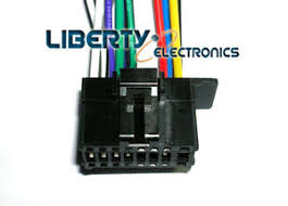 new 16 pin wiring wire plug harness for pioneer deh 150mp deh Pioneer 16 Pin Wiring Harness image is loading new 16 pin wiring wire plug harness for pioneer 16 pin wiring harness diagram