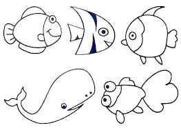 Ocean Coloring Pages For Preschool Ocean Creatures Coloring Pages