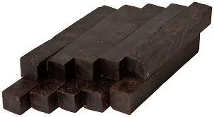 African Blackwood Pen Blanks 10 Pack