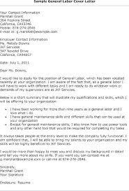 General Labor Sample Resume General Laborer Resume Example Sample