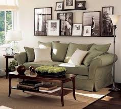 Wall Decorating With Family Photographs For Feng Shui A Living Room Design