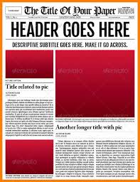 Newspaper Report Template Microsoft Word Microsoft Word Newsletter Template Andone Brianstern Co