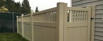 brown vinyl picket fence. Brown Vinyl Fencing Call Us Today To Start Enjoying The Beauty And Privacy Of A New Fence Adding True Value For Your Investment Dark Picket