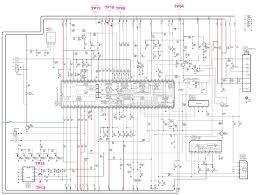 samsung cl21k40 crt tv service mode circuit diagram micom schematic