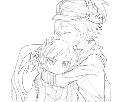 Anime Boys Coloring Pages Anime Drawing For Kids At Getdrawings