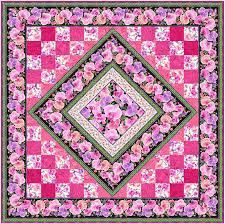 Free Pattern - Orchid Beauty - eQuilter BlogeQuilter Blog & This week's exclusive eQuilter Free Pattern has realistic pink and lavender  orchid blossoms in an engineered stripe for the border and diamond  inset….set ... Adamdwight.com