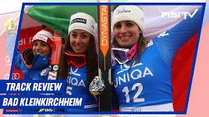 #Throwback con Goggia, Brignone e Nadia Fanchini: l'1-2-3 a Bad  Kleinkirchheim