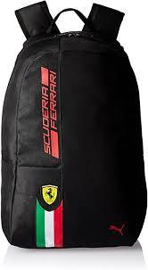 Puma Rucksack Ferrari Fanwear Backpack Black 22 2 X 12 5 X 15 5 Cm 17 Liter Amazon De Sport Freizeit