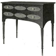 sheraton side table 1795