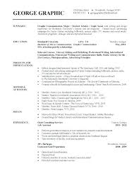 Current College Student Resume College Student Resume Template Thrifdecorblog Com