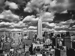 vintage posters canvas painting photographic print decorative scenery view black and white pictures new york sky over manhattan in painting calligraphy