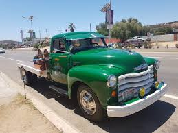 Classic 1951 Chevrolet Truck Caught Roaming the Valle de Guadalupe ...
