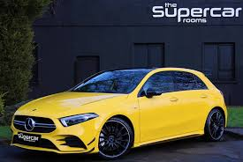 Explore the amg a 35 4matic hatch, including specifications, key features, packages and more. 2019 Mercedes A35 Amg Premium Plus Pan Roof Aero Kit 11k For Sale Car And Classic