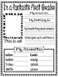 Small Picture 173 best Unit 1 All About Me Back to School images on Pinterest