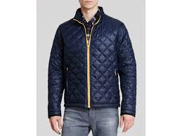 Barbour Kellen Quilted Jacket in Blue for Men | Lyst & Gallery Adamdwight.com