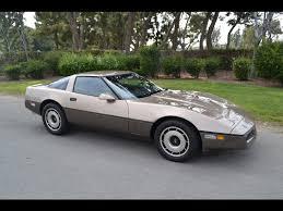 SOLD 1984 Chevrolet Corvette Coupe Lt.Bronze/Dk. Bronze - YouTube