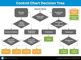Lean Six Sigma Control Chart Control Chart Decision Tree Goleansixsigma Com