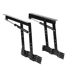 2x multi functional lift up top coffee table lifting frame mechanism
