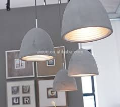 restaurant pendant lighting. perfect pendant modern industrial concrete light decorative home hanging pendant lighting  restaurant throughout i
