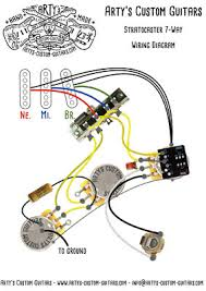 prewired harness strat 7 way gilmour Strat 7 Way Wiring Diagram Stratocaster 5-Way Switch Positions