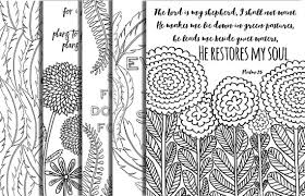 Small Picture 5 Hand Drawn Bible Verse Coloring Pages Inspirational Quotes