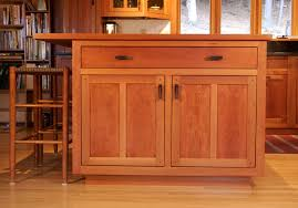 Modern Cherry Kitchen Cabinets Custom Cabinetry With Stained Glass Stauffer Woodworking