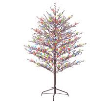 Artificial Christmas Tree With C9 Lights Outdoor Artificial Trees That Light Up Unlit Christmas Gt