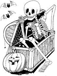 S Dessin Coloriage Halloween Citrouille Qui Fait Peurlll L
