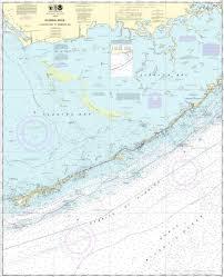 Noaa Chart 11452 Nos 11452 Icw Alligator Reef To Sombrero Key Fl