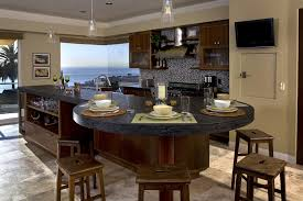 Granite Kitchen Island With Seating For As Dining Table Home Sweet  Throughout Top Architecture 12