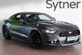 FORD MUSTANG 5.0 V8 GT [Custom Pack] 2dr Auto (2016) For Sale From Sytner  Select Leicester, In Leicestershire, United Kingdom