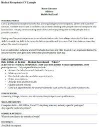 Professional Receptionist Resume Resume Sample