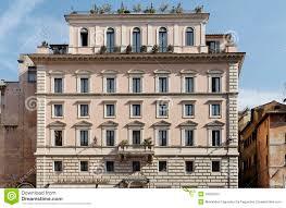 Historical Building Facade in Rome
