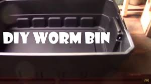 how i made our new diy worm bin step by step
