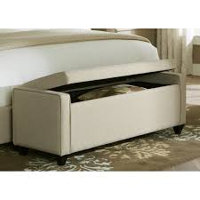 Padded Benches Living Room Minimalist Padded End Of Bed Storage Bench With Lift Top System