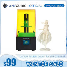 <b>ANYCUBIC Photon Zero</b> 2020 <b>Newest</b> 3D Printer Quick Slice Big ...