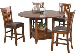 Square to round table Ce0816 Winners Only 42 Inches Tall Square To Round Table With Granite Lazy Susan Dzh54260 In Portland Barker Stonehouse Winners Only Zahara 42 Inches Tall Square To Round Table With