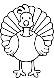 Turkey Printable Coloring Pages Coloring Page Thanksgiving Printable