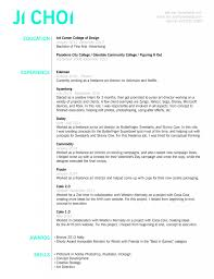 Cover Letter Artrector Resume Examples Creative Resumes Samples