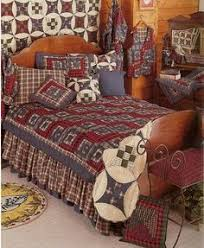 The Quiltmakers- Utah Country Quilting classes/ fabric store | sew ... & 6-pc Red Log Cabin - Patchwork Quilt, 2 Shams, 2 Pillows Adamdwight.com